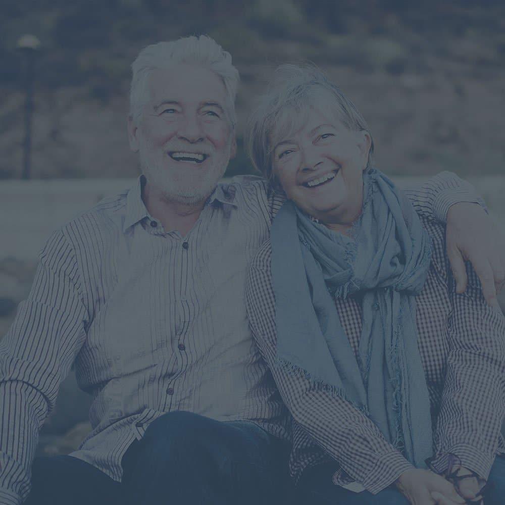 A dental bridge is a great tooth replacement option to restore your smile. Like this couples love - they can last decades.